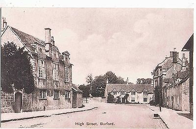 OXFORDSHIRE - THE HIGH STREET BURFORD, 1910s