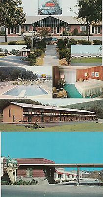 Vintage Motel Postcards Lot of 11 Cards New York New Jersey Pennsylvania