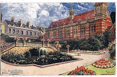 Sussex - Art Card By Jotter - The Italian Garden,hotel Metropole, Brighton, 1914