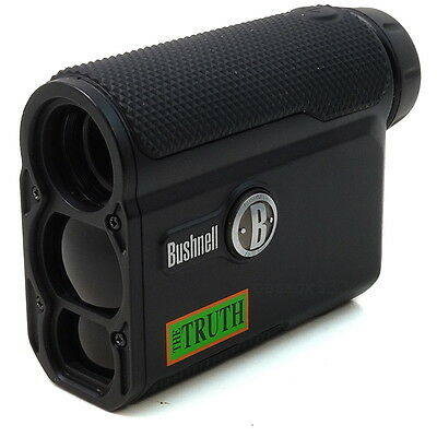 Bushnell The Truth 4x20 Laser Rangefinder 202342 w ARC & Bow Mode Hunting Used