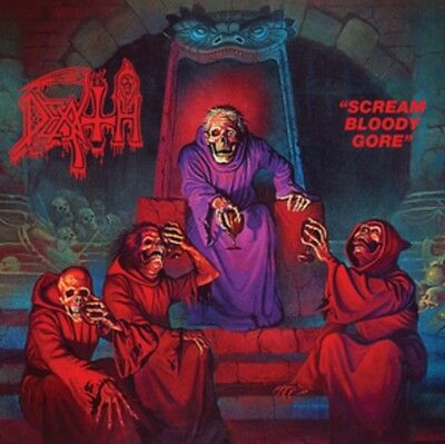 Scream Bloody Gore (Black LP), Death, Vinyl, 0781676732418