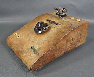 WWII GERMAN ARMY WEHRMACHT IMPERIAL CRYSTAL DETECTOR w/GALENA RADIO RECEIVER SET