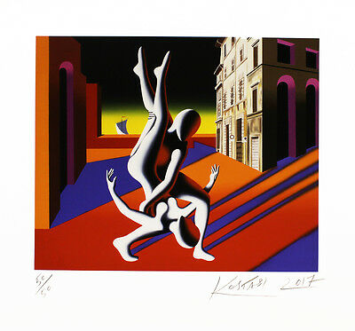 Mark Kostabi - Timing - handsigniert, nummeriert und datiert