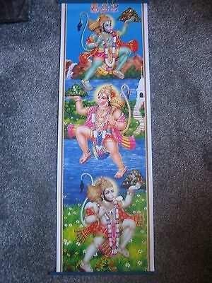 Colourful Wall Hanging Of Hanuman