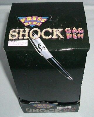 12 pcs Electric Shocking GaG Pen Adult Prank Shock Joke Toy Wholesale Lot (•¿•)