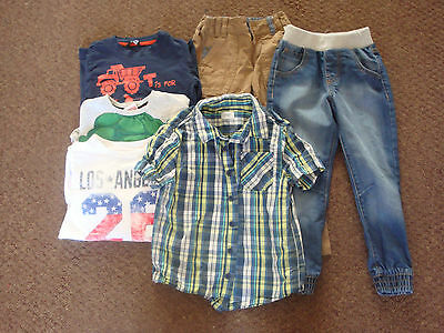 job lot of boys clothing age 4-5 years