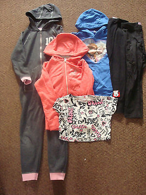 job lot of girls clothing age 7-8 years