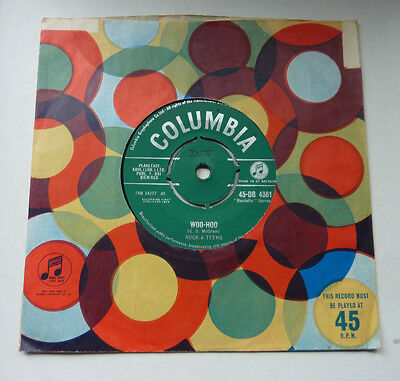 Rock A Teens Woo Hoo UK 1959 Columbia 45 single In Excellent condition DB 4361