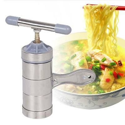 Stainless Noodle Maker Pasta Making Machine Spaghetti Roller Juicer Press New LA