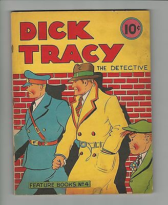 Dick Tracy Large Feature Book #4, F-,  1937