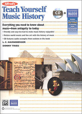 Alfred's Teach Yourself Music History (Book, CD & Streaming Audio Access)