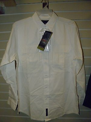 Genuine 5.11 Tactical Shirt 3Xl Long Sleeve 100% Cotton 72157 White Nwt