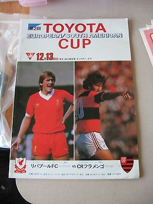 1981 Toyota European / South American Cup Liverpool v Flamengo in Japan ORIGINAL