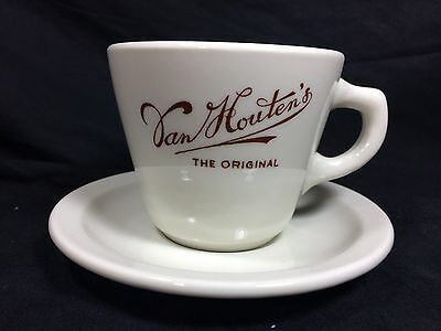Van Houten's Original Cocoa Coffee Cup And Saucer Mayer China Hot Chocolate