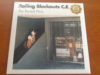 """Rolling Blackouts Coastal Fever - The French Press 12"""" (Loser/colour Edition)"""