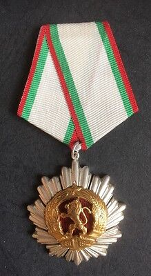 Order of The People's Republic of Bulgaria Medal - 2nd Class           (Ref:1A)