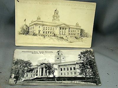 Acadia University Administration Building Postcards L. Farin Wolfville NS