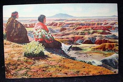 Hopi Indian Orlin Zellah Postcard Arizona Desert Natives