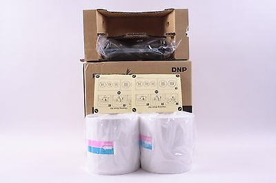 "Fotolusio Paper 2YPC-R204 2 Rolls 4"" & 1 Ink Ribbon for Sony UP-DR200 Printers"