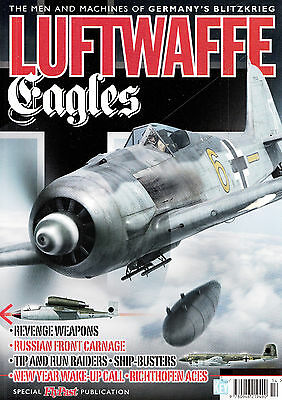 20126/ KEY - Luftwaffe Eagles - The Men and Machines - TOPP HEFT