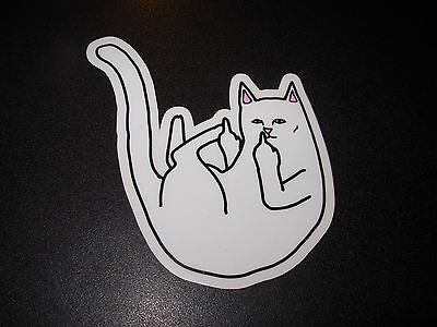 RIPNDIP Skate Sticker nermal POISON rip n dip skateboards helmets decal