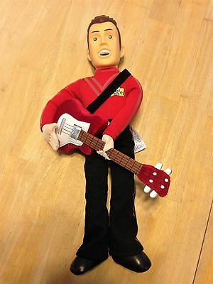 The Wiggles Murray Plush Stuffed Singing Doll w/ Guitar 2013