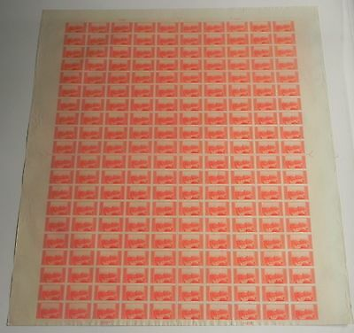 US Stamps Rare Mt. Rockwell Imperf  Press Sheet Plate No 21257  MNH NGAI