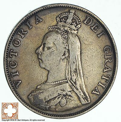 1890 Great Britain Double Florin *0904