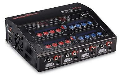 Ultra Power UP240 AC PLUS 240W 4-PORT Multi AC/DC LiPo/Li-ion/LiFe/LiHV Charger