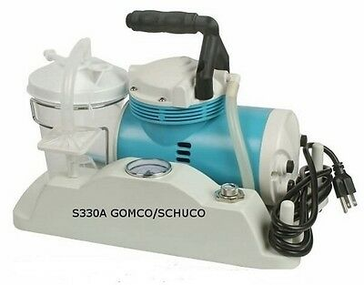 New S330A Schuco Portable Suction Pump Complete Ready To Use