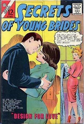Secrets of Young Brides (1957 Charlton) #44 FN- 5.5 LOW GRADE