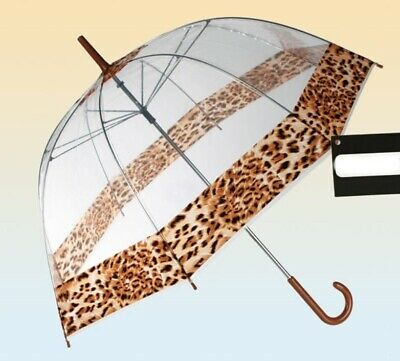 Umbrella Dome transparent,Leopard Pattern,Umbrella,Umbrella