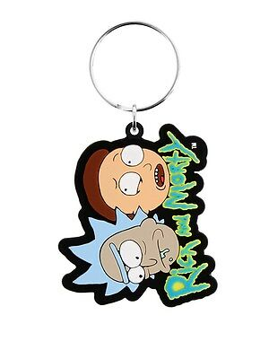 Rick and Morty Keyring