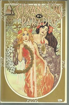 Strangers In Paradise Terry Moore No 53 Sept 2002 Abstract Studio Comic