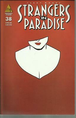 Stranger In Paradise Terry Moore No 38 Jan 2001 Abstract Comic