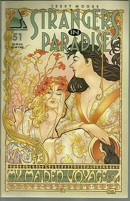 Strangers In Paradise Terry Moore No 51 June 2002 Abstract Studio Comic