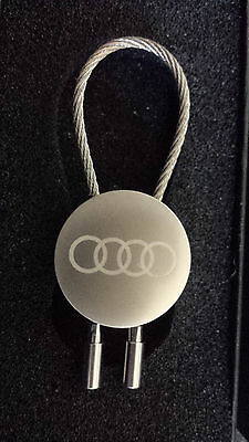AUDI Keychain (Key Chain) Commemorative 2015 Alpine World Championships IN BOX