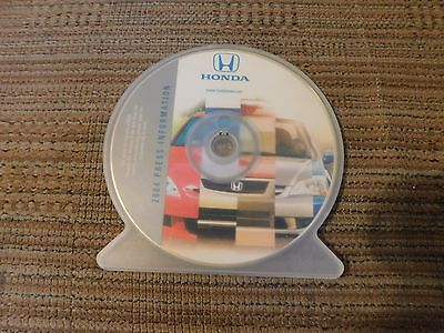 2004 Honda Accord Civic S2000 Odyssey Crv Prelude Passport Pilot Press Kit Cd