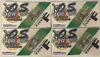4 PCS OS GLOW PLUG TYPE F OS71615009 O.S. Engines Genuine Parts RC AIRPLANE LOT