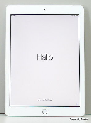 """**USED** Apple iPad MP1L2CL/A 9.7"""" Tablet, Wi-Fi + Cellular - Silver"""