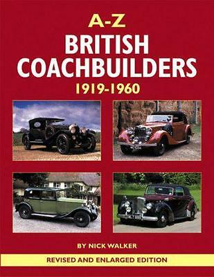 A-Z of British Coachbuilders 1919-1960 by Nick Walker | Hardcover Book | 9780954