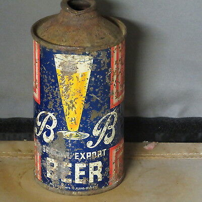 B  &  B  Special Export    Beer  Solid  Colorful Irtp  Cone Top