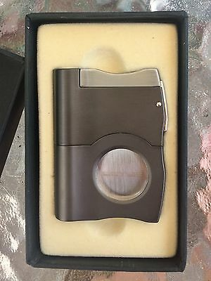 Lotus Cigar Cutter with Guillotine Straight Cut Punch Havana Punch Multi Punch