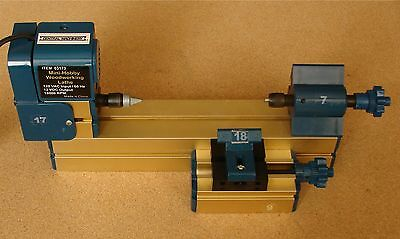 Central Machinery 03173 Mini-Hobby Woodworking Lathe