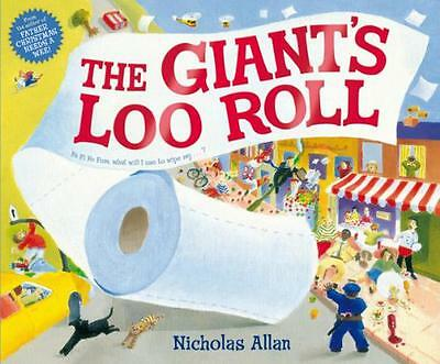 The Giant's Loo Roll by Nicholas Allan | Paperback Book | 9781849415026 | NEW