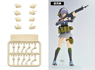 TOMYTEC X Figma Little Armory LA-OP04 1/12 Scale Hand for Gun set