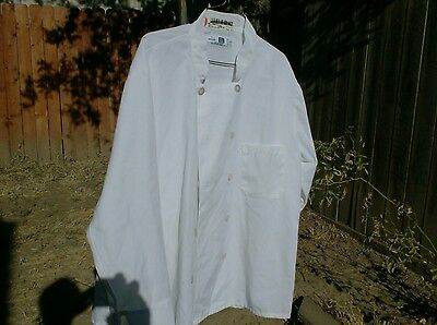 Chef Coats 2 White Chef Coats size 2XL $12.00 for Both Coats