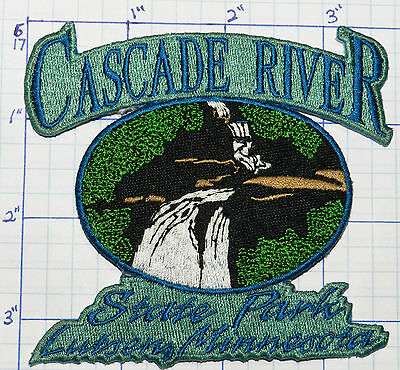 Minnesota, Cascade River State Park Lutsen Lake Superior Souvenir Travel Patch