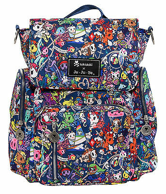 Ju Ju Be Tokidoki X Be Sporty Backpack Baby Diaper Bag Sea Punk NEW