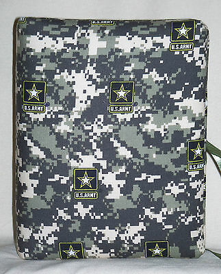 """Camouflage United States Army Handcrafted Handmade Photo Album Holds 80 4""""X6 NEW"""